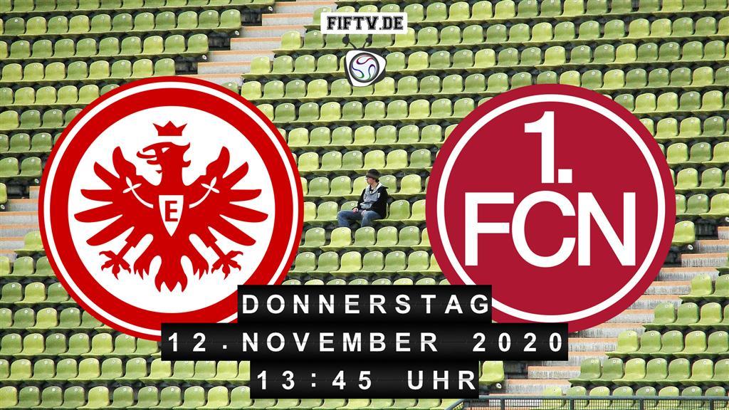 Eintracht Frankfurt - Nürnberg