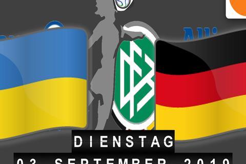 Anstoß Deutschland Ukraine