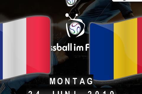 Frankreich Rumänien Stream