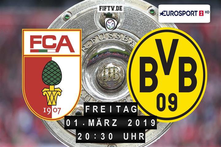 FC Augsburg - Borussia Dortmund Spielankündigung