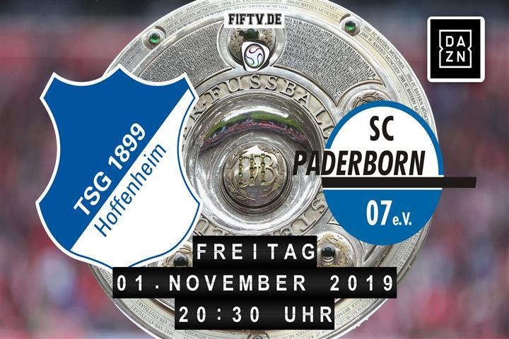 1899 Hoffenheim - SC Paderborn 07 Spielankündigung
