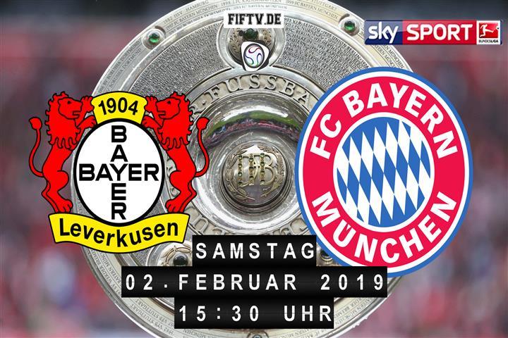 Bayer Leverkusen - Bayern München Spielankündigung