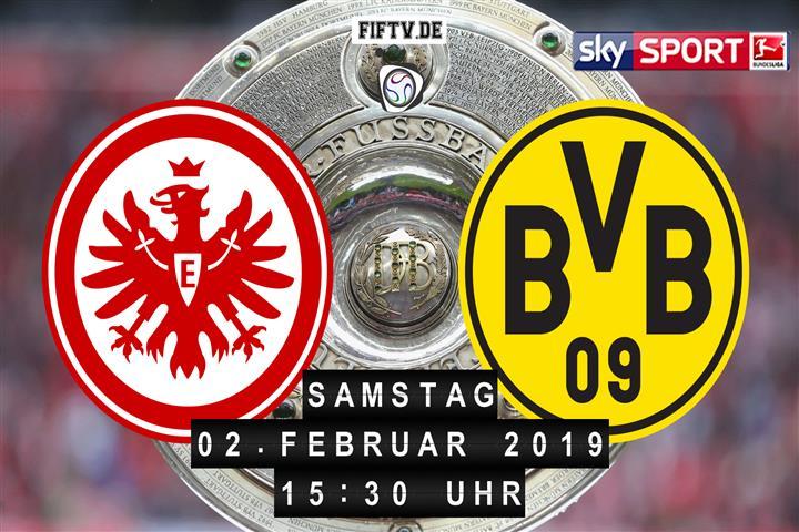 Eintracht Frankfurt - Borussia Dortmund Spielankündigung