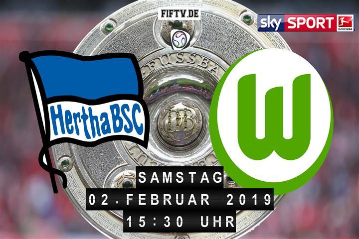 Hertha BSC - VfL Wolfsburg Spielankündigung