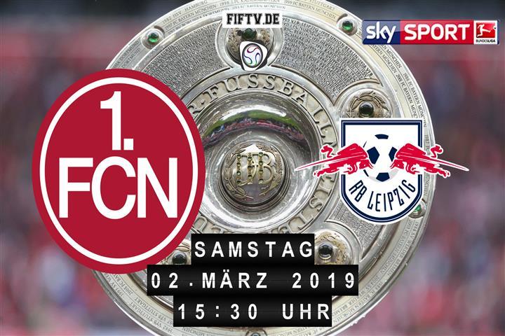 1.FC Nürnberg - RB Leipzig Spielankündigung