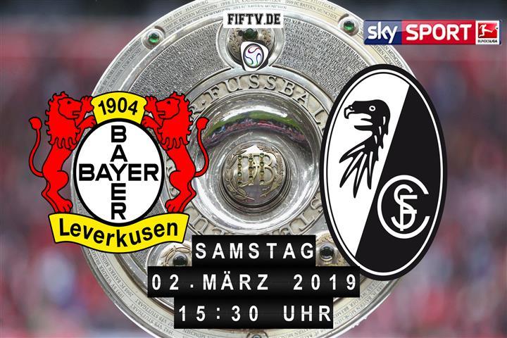 Bayer Leverkusen - SC Freiburg Spielankündigung