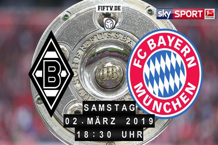 Borussia Mönchengladbach - Bayern München Spielankündigung