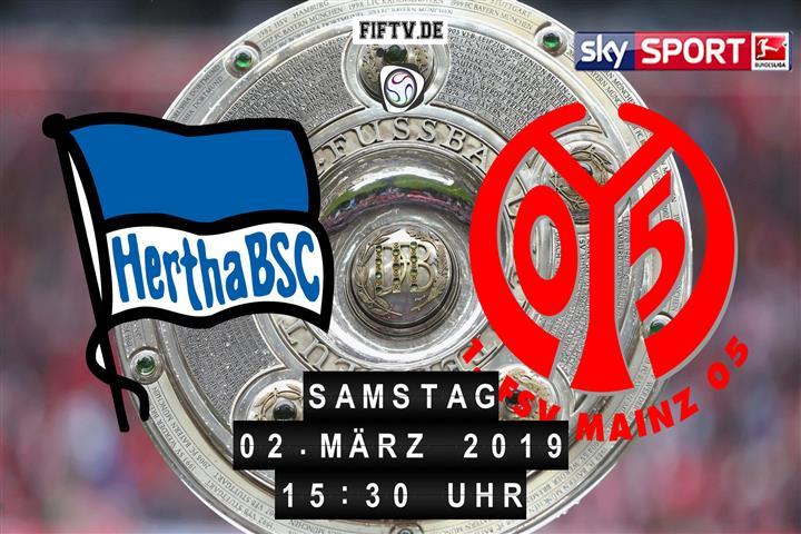 Hertha BSC - FSV Mainz 05 Spielankündigung