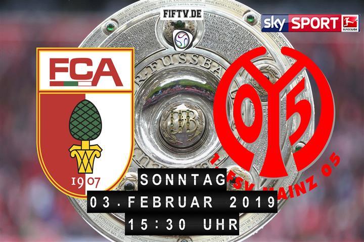 FC Augsburg - FSV Mainz 05 Spielankündigung
