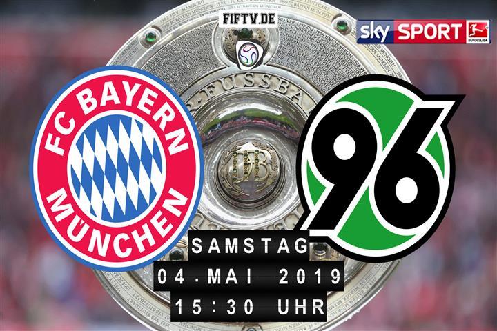 Bayern München - Hannover 96 Spielankündigung