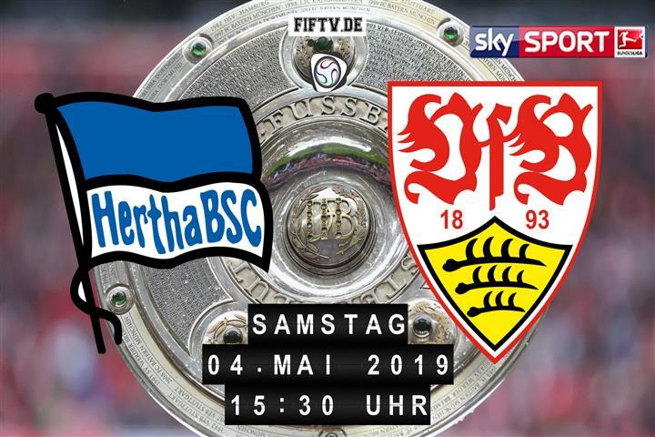 Hertha BSC - VfB Stuttgart Spielankündigung