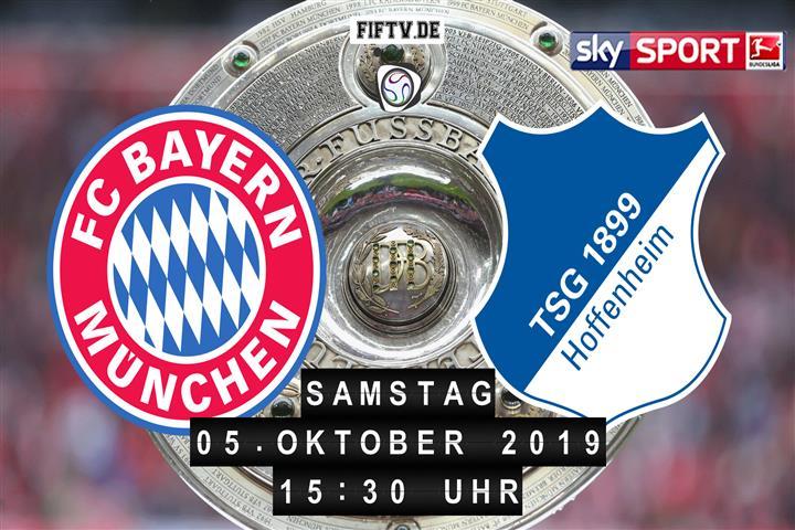 Bayern München - 1899 Hoffenheim Spielankündigung