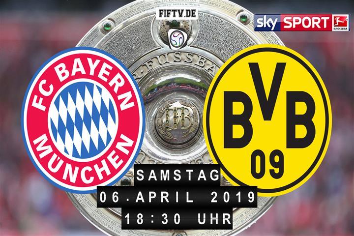 Bayern München - Borussia Dortmund Spielankündigung