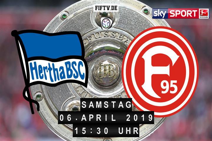 Hertha BSC - Fortuna Düsseldorf Spielankündigung