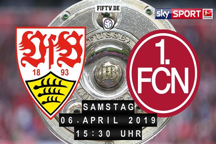 VfB Stuttgart - 1.FC Nürnberg Spielankündigung