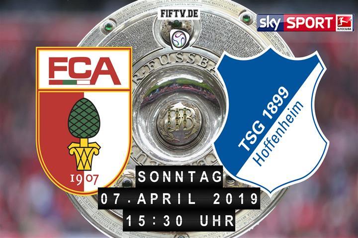 FC Augsburg - 1899 Hoffenheim Spielankündigung