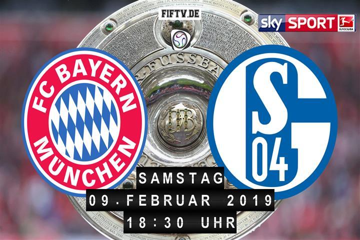 Bayern München - Schalke 04 Spielankündigung