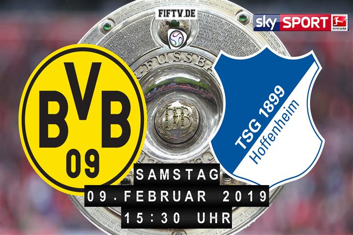 Borussia Dortmund - 1899 Hoffenheim Spielankündigung