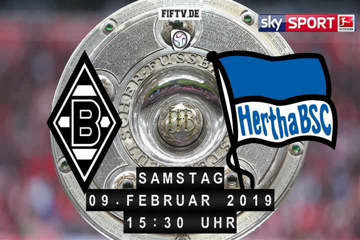 Borussia Mönchengladbach - Hertha BSC Spielankündigung