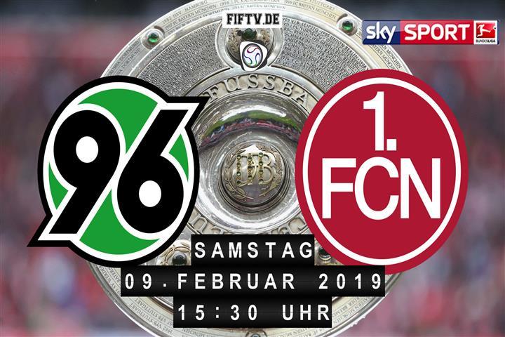 Hannover 96 - 1.FC Nürnberg Spielankündigung