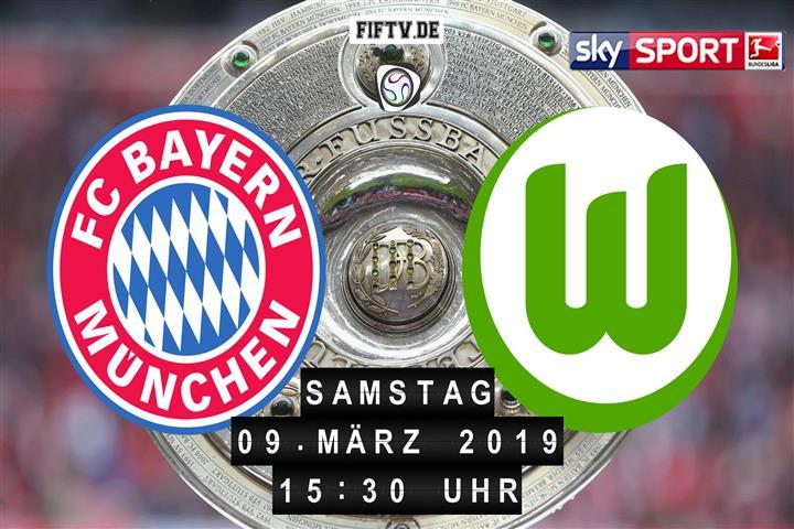 Bayern München - VfL Wolfsburg Spielankündigung