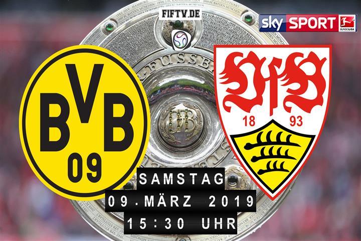 Borussia Dortmund - VfB Stuttgart Spielankündigung