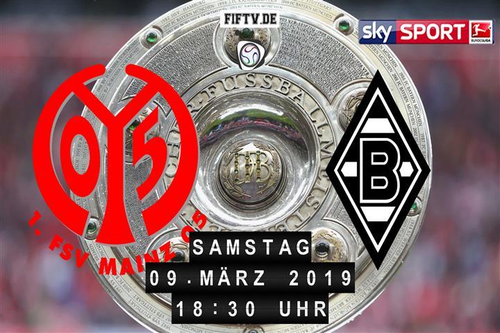 FSV Mainz 05 - Borussia Mönchengladbach Spielankündigung