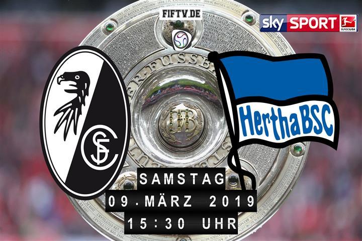 SC Freiburg - Hertha BSC Spielankündigung