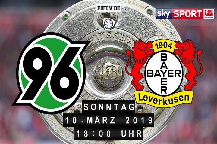 Hannover 96 - Bayer Leverkusen Spielankündigung