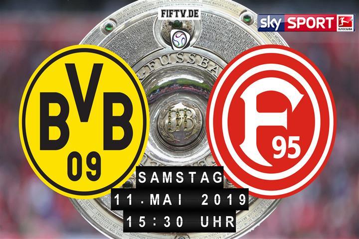 Borussia Dortmund - Fortuna Düsseldorf Spielankündigung