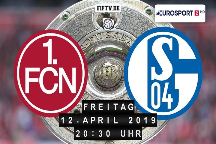 1.FC Nürnberg - Schalke 04 Spielankündigung