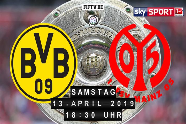 Borussia Dortmund - FSV Mainz 05 Spielankündigung