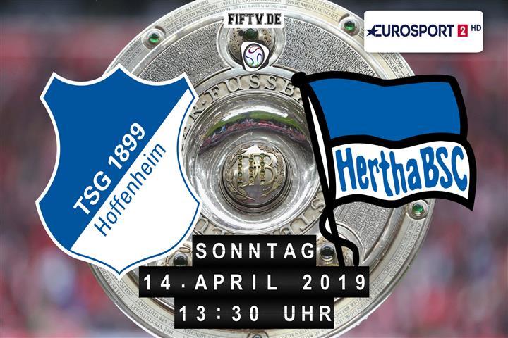 1899 Hoffenheim - Hertha BSC Spielankündigung