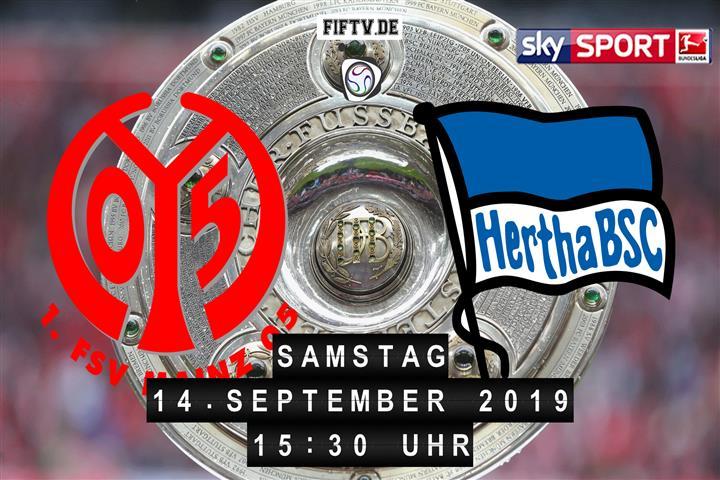 FSV Mainz 05 - Hertha BSC Spielankündigung