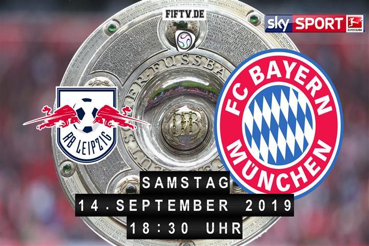 RB Leipzig - Bayern München Spielankündigung