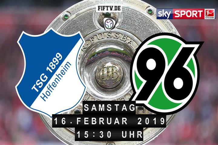 1899 Hoffenheim - Hannover 96 Spielankündigung