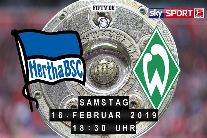Hertha BSC - Werder Bremen Spielankündigung