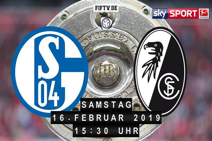 Schalke 04 - SC Freiburg Spielankündigung