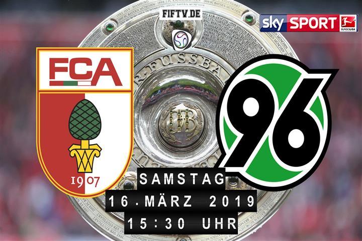 FC Augsburg - Hannover 96 Spielankündigung