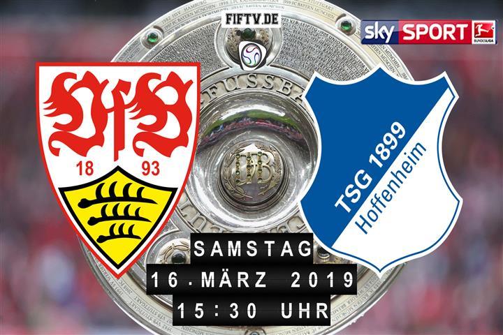 VfB Stuttgart - 1899 Hoffenheim Spielankündigung