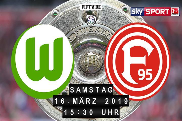 VfL Wolfsburg - Fortuna Düsseldorf Spielankündigung