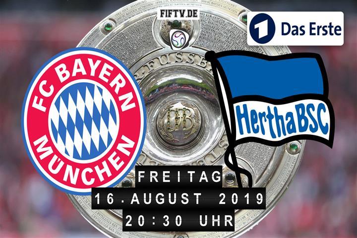 Bayern München - Hertha BSC Spielankündigung