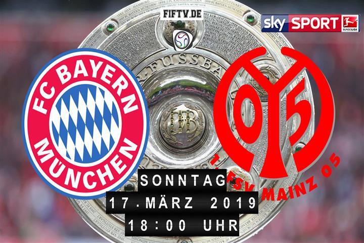 Bayern München - FSV Mainz 05 Spielankündigung