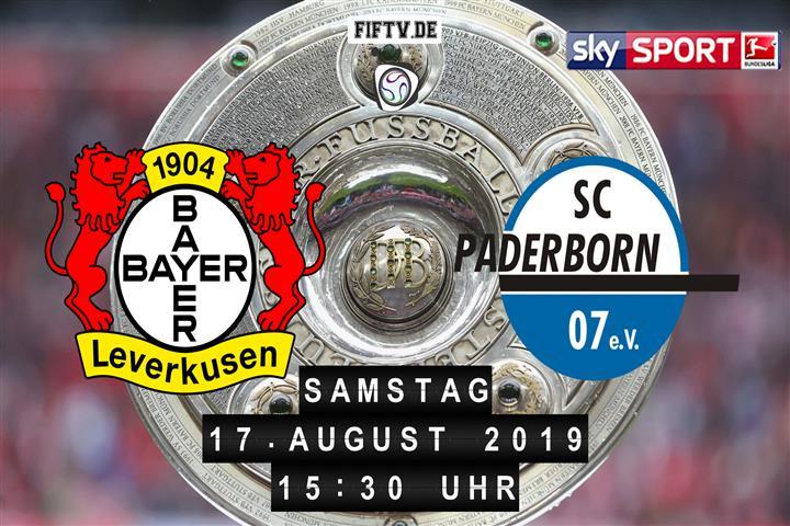 Bayer Leverkusen - SC Paderborn 07 Spielankündigung
