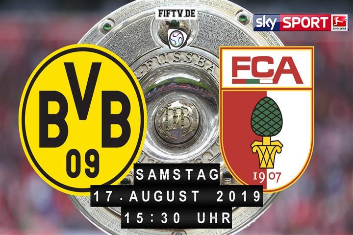 Borussia Dortmund - FC Augsburg Spielankündigung