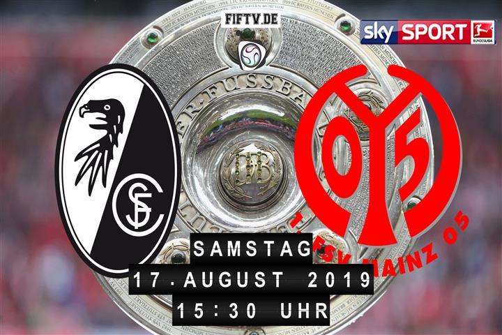 SC Freiburg - FSV Mainz 05 Spielankündigung
