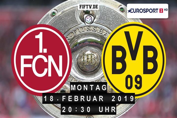1.FC Nürnberg - Borussia Dortmund Spielankündigung