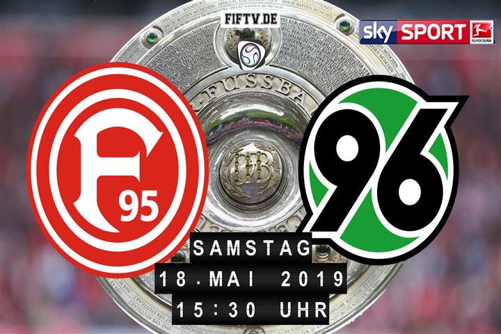Fortuna Düsseldorf - Hannover 96 Spielankündigung