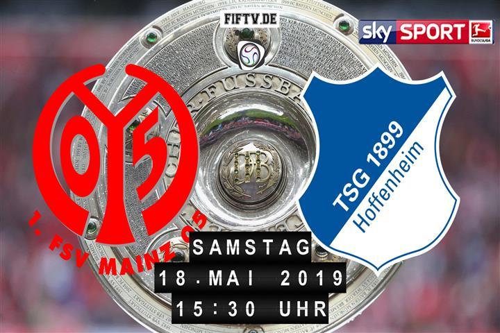 FSV Mainz 05 - 1899 Hoffenheim Spielankündigung