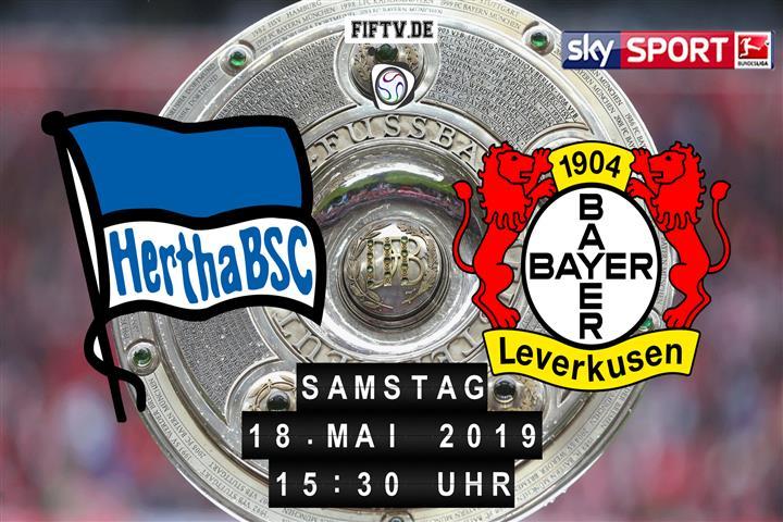 Hertha BSC - Bayer Leverkusen Spielankündigung